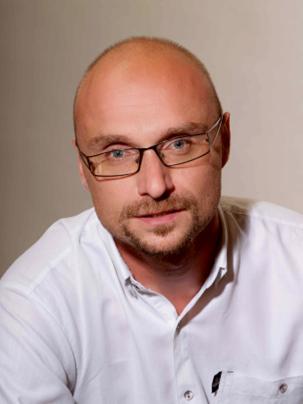 foto lektora Roman Pešek